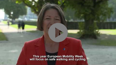 Embedded thumbnail for Video message by Commissioner Violeta Bulc for EUROPEAN MOBILITY WEEK 2019