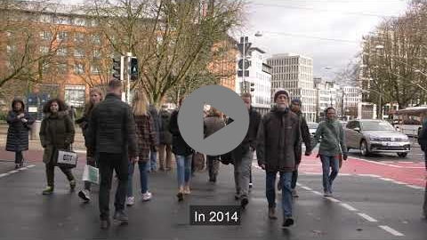 Embedded thumbnail for The positive influence of the SUMP on travel behaviour in Bremen (short video)